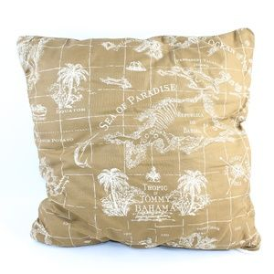 """Tommy Bahama Home 18"""" Indoor Outdoor Decor Pillow"""